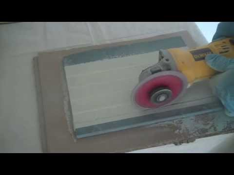 How to Cut Marble Tiles in the Field
