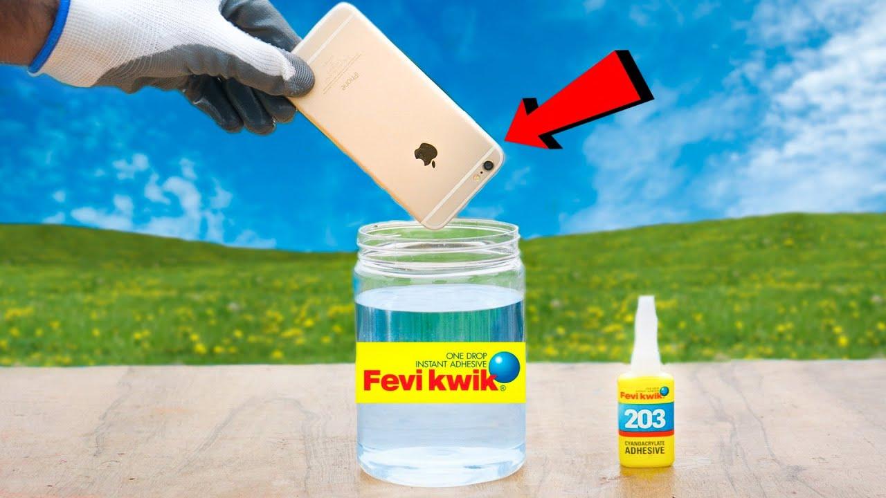 iPhone VS Fevikwik Super Glue | iPhone को फेवीक्विक में डालने पर क्या होगा? - Shocking Result