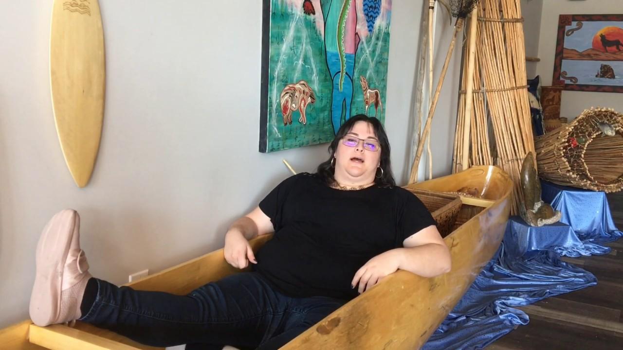 Canoes in the Okanagan