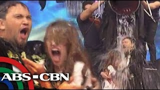 It's Showtime: Billy and Coleen's ice bucket challenge