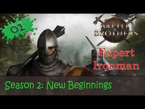 Смотреть Battle Brothers Season 2 Expert Ironman 01 - New Beginnings онлайн