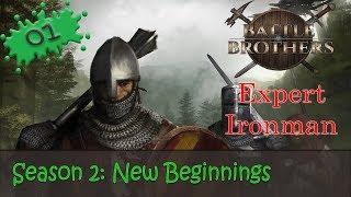 Battle Brothers Season 2 Expert Ironman 01 - New Beginnings