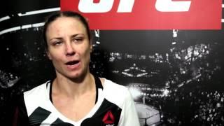 Nina Ansaroff - UFC Fight Night 103 post-fight interview