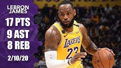 LeBron James tallies near triple-double for Lakers vs. Suns | 2019-20 NBA Highlights