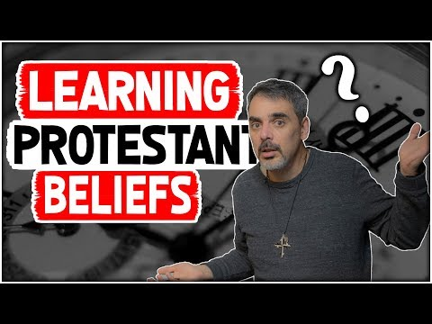 What do Protestants believe?