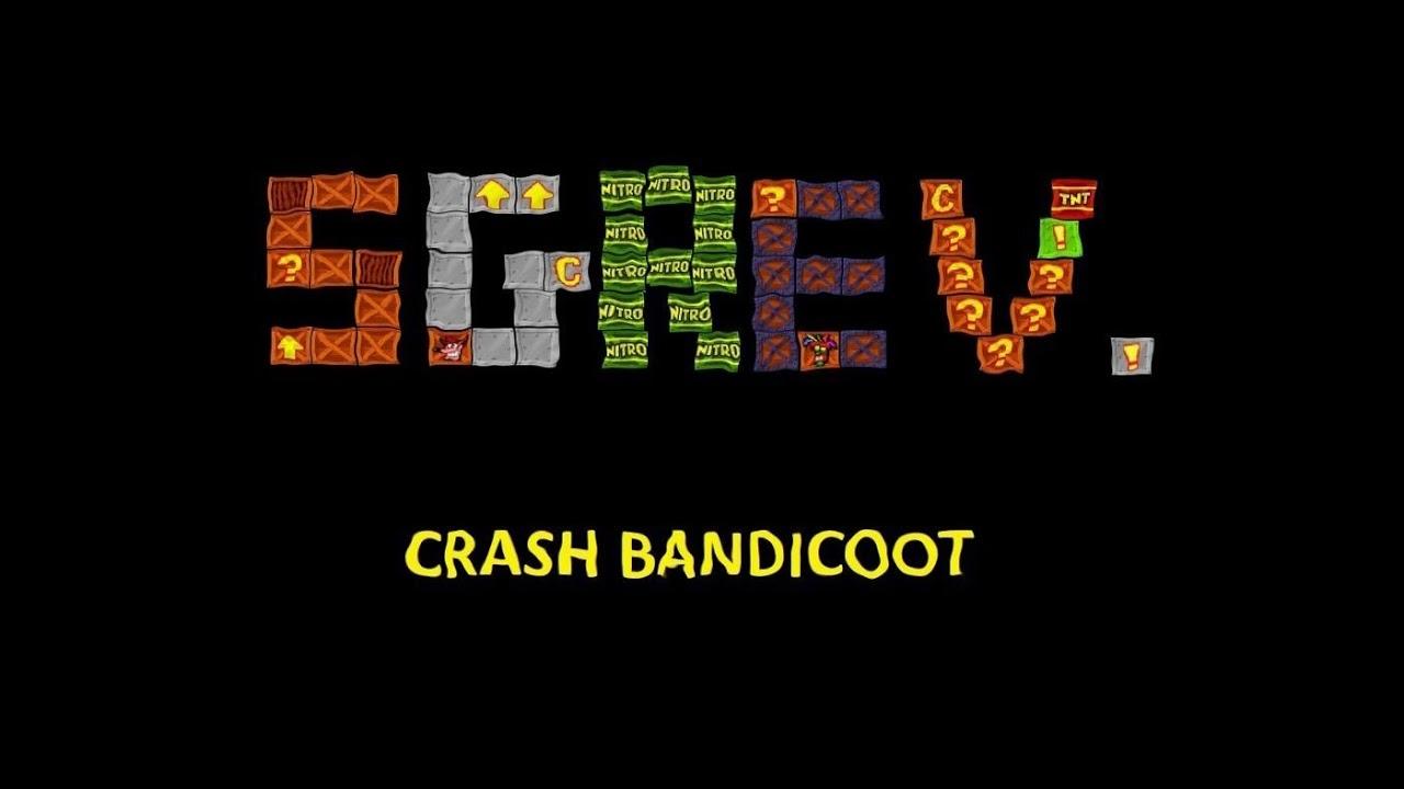 """Nuovo brano di Sgrev """"Crash Bandicoot"""""""