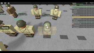 Roblox Camp Bristol, 1942 My atempted promotion