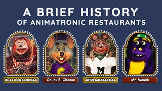 A Brief History of Animatronic Restaurants