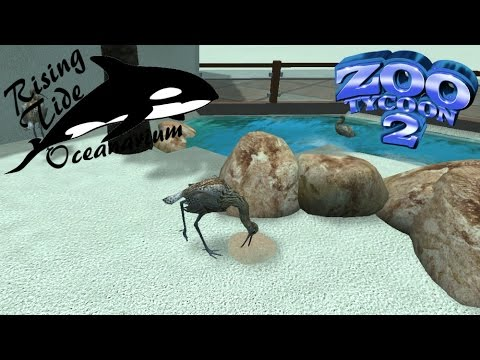 Zoo Tycoon 2: Rising Tide Oceanarium Part 3 - Wading Birds