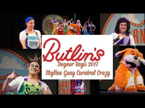 Butlins Bognor Regis Skyline Gang 2017 Carnival Crazy full show