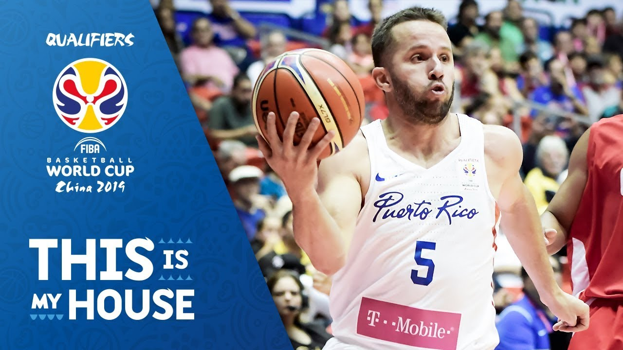 J.J. Barea - Puerto Rico | Top Plays Rd.1 | FIBA Basketball World Cup 2019 Americas Qualifier