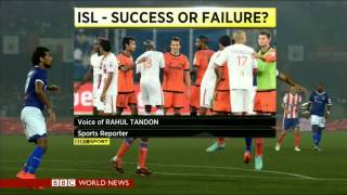 BBC World Sport Today - Indian Super League success