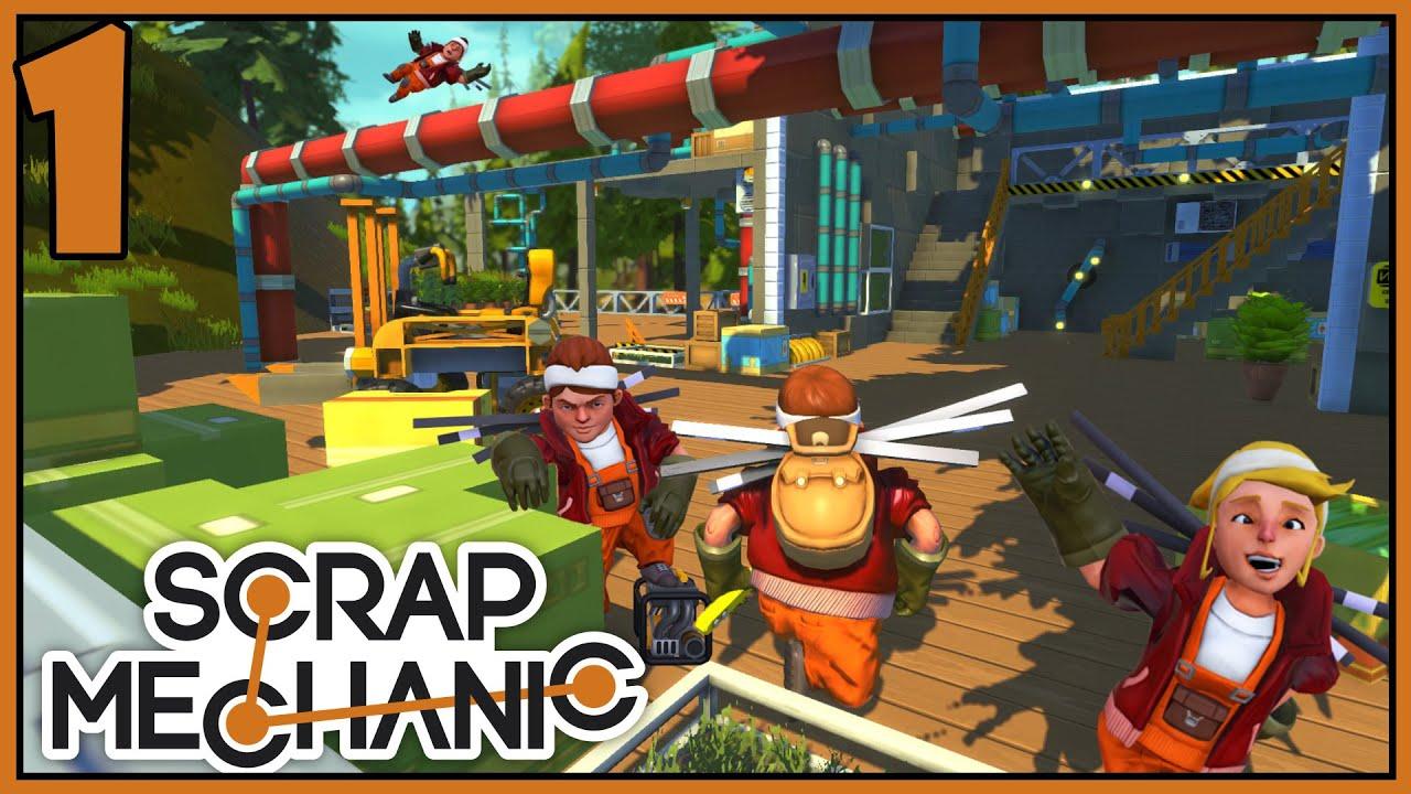 Sandbox Machine Builder Scrap Mechanic Gameplay Part 1 Lets – Machine Mechanic
