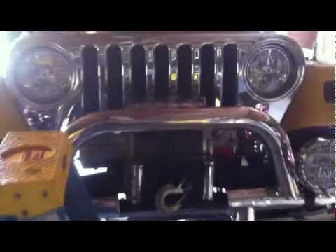Cammed LS3 in Wrangler tj video