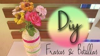 DIY: decora frascos & botellas ! Thumbnail
