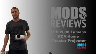 2000 Lumens HD RCA Home Theater Projector Review