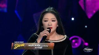 Như Quỳnh - Ngày Buồn (Lam Phương) PBN Divas Live Concert
