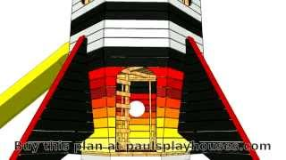 Rocket Ship Playhouse Plan Virtual Tour