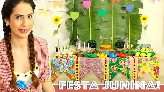 Baixar DICAS para DECORAR MESA de FESTA JUNINA