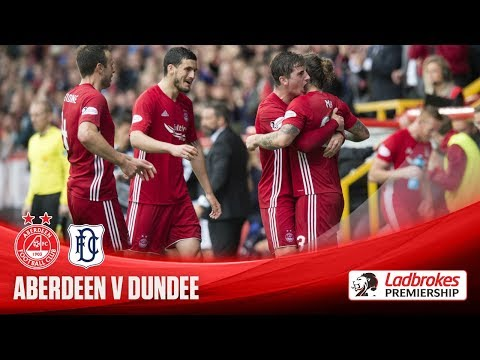 May scores twice as Dons down Dee
