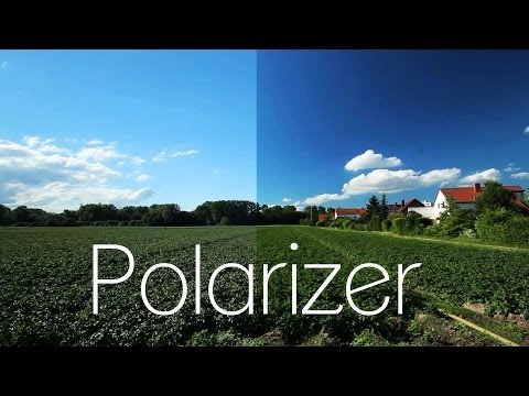 Using a Polarizing Filter DSLR Tutorial | Blue Sky - No Reflection