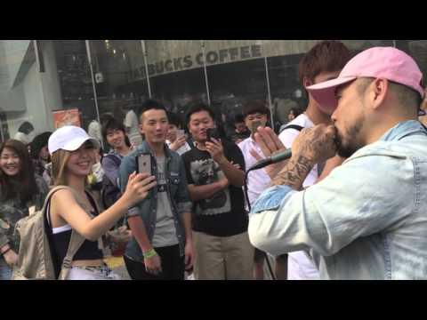母の日にSHOが渋谷スクランブル交差点前で路上ライブ feat 警察官も登場 SHO FREESTYLE TV Part 319