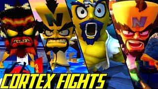 Evolution of Dr. Neo Cortex Battles in Crash Bandicoot Games (1996-2017)