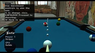 GTA San Andreas - How to play Pool at the very beginning of the game