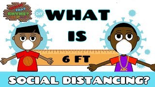 Social Distance For Children | Pandemic For Kids