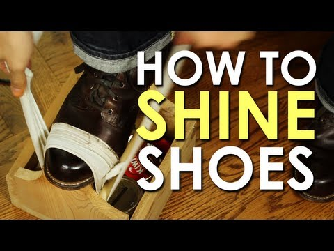 Primer: How To Shine Your Shoes