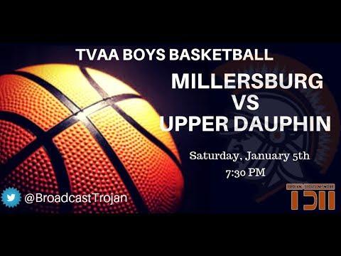 Boys Basketball - Millersburg vs UDA