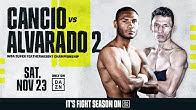Cancio vs. Alvarado 2 Weigh-In