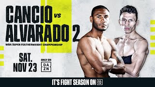 Cancio vs. Alvarado 2 Weigh-In