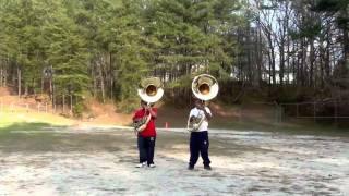 2011 Tuba Battle: Killa Phi Basses (Redan High School) vs. P PHI B (Miller Grove High School)