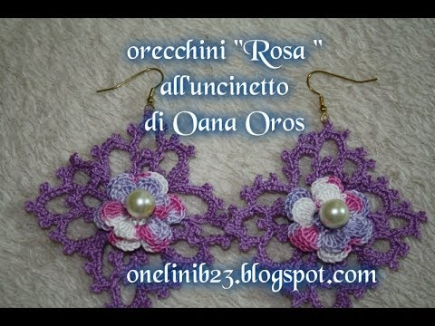 Orecchini Rosa Alluncinetto Youtube