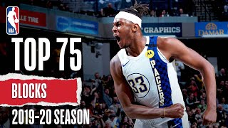 Top 75 Blocks | 2019-20 NBA Season