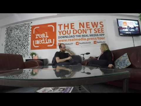 Real Media Podcast - Tina Louise, Nanas Against Fracking