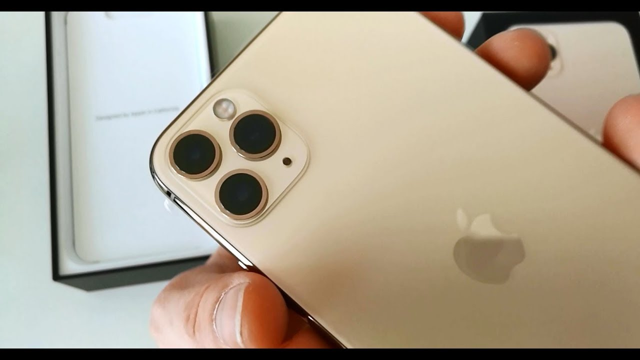 iPhone 11 Pro Max (New 2019) Gold , Quick View