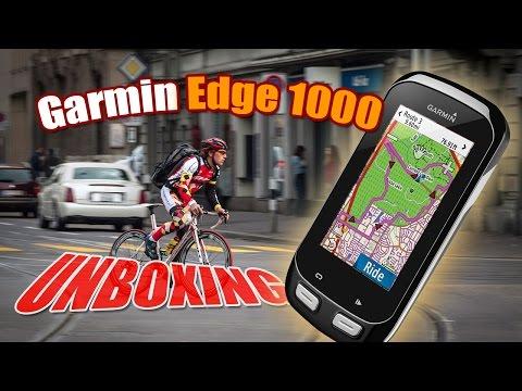 Garmin Edge 1000 + monitor cardíaco - Unboxing ((PT))