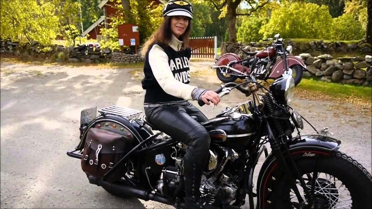 Harley Davidson: Harley Davidson, Knucklehead 1946, 2015-10-11