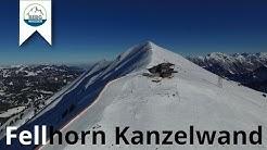 Fellhorn Kanzelwand - Bergwasser beim Ski fahren im Allgäu