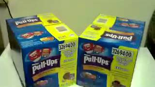 $8.97 Huggies Pullups at Walmart Dead or Alive?