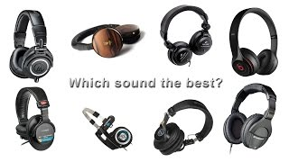 Best Headphones of 2015 - Beats vs Sony vs Audio-Technica vs Sennheiser