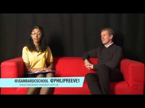 Philip Reeve Interview - Swindon Youth Festival of Literature 2015
