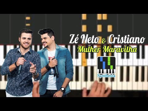 Zé Neto e Cristiano - Mulher Maravilha no SYNTHESIA PLAY