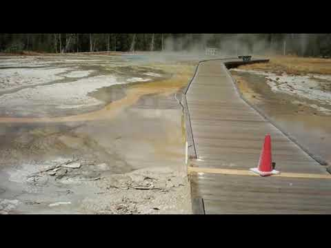 Yellowstone  LATEST Warning: Mysterious Rare Geyser Eruptions has Authorities Worried