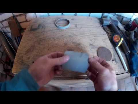 Как вырезать заглушку на трубу из этой же трубы