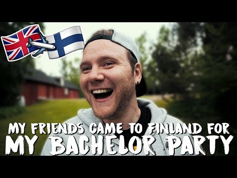 MY FRIENDS CAME TO FINLAND FOR MY BACHELOR PARTY!