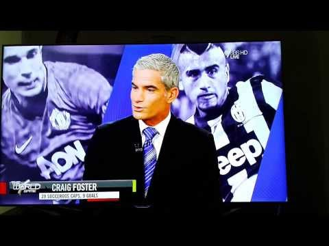 Permanent scar on Craig Foster and Les Murray's hearts!