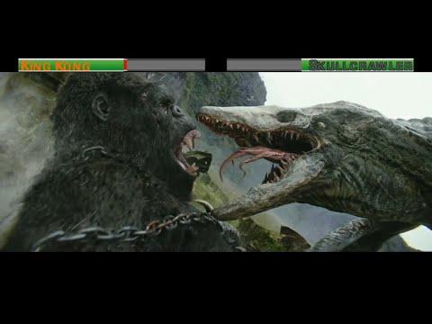 King Kong vs Skullcrawler...with healthbars - Ruslar.Biz
